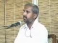 Speech H.I. Syed Mazhar Hussain Kazmi - Imam Hussain a.s Research institute -  Annual Workshop (May 2008) - Urdu
