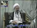 Ayatullah Makarem Shirazi mourning for Imam Hussain a.s. and his family