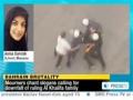 Bahrain: Short interview with Asma Darwish regarding arrest of Zainab Alkhawaja - Dec 2011 - English