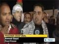 550 Palestinians return home under 2nd phase of prisoner swap deal - 19 Dec 2011 - English