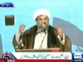 Quran o Ahlebait Conference 25 March 2012 - Allama Raja Nasir - Dunya TV and Express News - Urdu