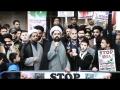 [1] Protest against Shia killing in Pakistan In front of Pakistan High Commission London - 13APR12 - Urdu