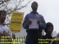 [12] Urdu Poetry - Protest @ Pakistan Embassy, Washington DC - 14Apr12 - Urdu