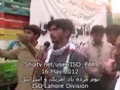 [16 May 2012 Protest - Lahore] Speech Br. Nasir - Divional president ISO lahore division - Urdu