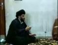 Meeting between Sayyed Abdul Aziz Al-Hakim and Sayyed Muqtada Al-Sadr - 4 of 4 - Arabic