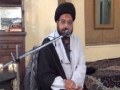 [Ramadhan 2012][Majlis 4] Adl Dar Nahjul Balagha - Moulana Taqi Agha -  Urdu