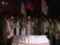 [17 August 2012 Quds Day ] Bomb Attack -Shuhda E Quds wo Palestine Day - Janaza Prayer نماز جنازہ شہدائے