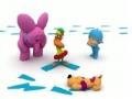 Kids Cartoon - Pocoyo - Mystery Footprints - English