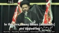 [CLIP] Warning about fitnas against the system of Wilayah - Maulana Aqeel ul Gharavi - Urdu sub English