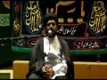 [03] Muharram 1434 - Prophet Mohammad (s) in the Eyes of Imam Hussain (a.s) - H.I. Syed Tasdeeq - Urdu