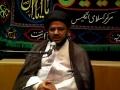 [04] Muharram 1434 - Prophet Mohammad (s) in the Eyes of Imam Hussain (a.s) - H.I. Syed Tasdeeq - Urdu