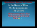 Who are the 12 Successors of the Prophet s.a.w.a.w - English