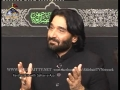 [Noha] Nadeem Sarwar Reciting Khutba Bibi Zainab (s.a) at Ahlebait TV London - Urdu