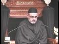 [04] Maqsad e Imam Hussain (a.s) aur Nusrat e Imam e Zamana Kay liye Tayyari - UK London 2012 - Urdu