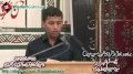 چہلم  Shaheed Saeed Haider - Speech Sadiq Zaidi Son of Shaheed Saeed Haider - 5 Jan 2013 - Urdu
