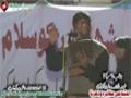 [13 Jan 2013] Karachi Dharna - Noha by Brother Nasir Agha - Urdu