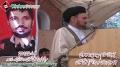 Speech H.I Haider Ali Moosvi - 17th Martyrdom Anniversary Dr. Muhammad Ali Naqvi Shaheed - 4 March 2012 - Urdu