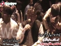 [18 February 2013] Karachi Dharna - Rizvia Chorangi - H.I. Syed Ali Murtaza Zaidi - Urdu