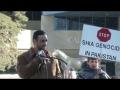 [Calgary – Protest Shia Genocide] Speech By Br. Hussain Zaidi - English