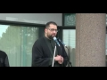 [Toronto Protest] Shia and Sunni Killings in Pakistan - Speech By Molana Asad Jaffri - English