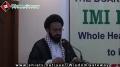 ہمارے شہداء ہمارا افتخار - H.I. Sadiq Taqvi - IMI House - 9 March 2013 - Urdu