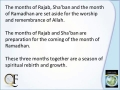 Significance of the Month of Rajab - English