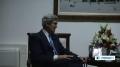 [23 May 13] Protests as US Secretary of State visits Ramallah - English