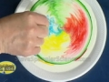 Color Changing Milk - Cool Science Experiment - English