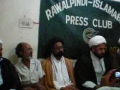 Islamabad Press Conference about Parachanar 26 Aug 08 - urdu