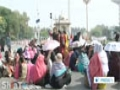 [16 Mar 2014] Nurses in Pakistan Lahore continue sit-in - English