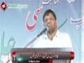 [Barsi Shaheed Dr. Muhammad Ali Naqvi] Speech : Br. Danish Ali - Jaffare Tayyar, Malir - Urdu