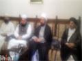 Allama Amin Shaheedi meeting with the Shah Owais Noorani - 26 Mar 2014 - Urdu