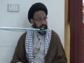 [Lecture] رمضان کی روحانی کیفیت کی حفاظت - H.I Sadiq Raza Taqvi - 22 July 2014 - Urdu
