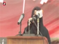 [یوم حسین ع] Salam : Sis Rahela - 18 November 2014 - Karachi University - Urdu