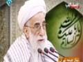 Ayatollah Jannati about Basij   بیانات آیت الله جنتی درباره بسیج - Farsi