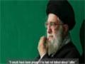 Ayatollah Khamenei: Tatbir is a fabricated and anti-Islamic tradition - Farsi sub English