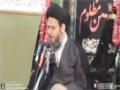[03] 24 Muharram 1436-14 - Tafseer Surah Asr - H.I Aqeel ul Gharavi - Abbott Road, Lahore - Urdu