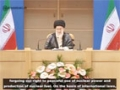 Leader: Iran considers the use of WMDs as an unforgivable sin - farsi sub Eng