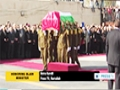 [12 Dec 2014] Palestinians hold military funeral for Palestinian Minister Zeyad Abu Ein - English