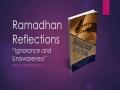 [Supplication For Day 3] Ramadhan Reflections - Ignorance and Unawareness - Sh. Saleem Bhimji - English