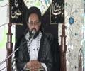 [05] Haqeeqi Aur Takhleeqi Intezaar - H.I Sadiq Taqvi - Muharram 1437-2015 - Urdu