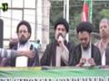 [Himayat e Mazlomeen Rally] Speech : H.I Ahmed Iqbal - Numaesh to Press club Karachi - 19-12-2015 - Urdu
