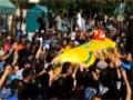 Hizbullah Şehidi Cenaze Merasimi - Lübnan - Turkish