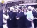 بیعت سید عباس موسوی با امام خمینی(ره) و مقام معظم رهبری - Arabic