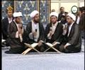 Beautiful recitations of Holq Quran 2015 - Ayatullah Khamenei Present Arabic