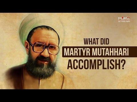 What did Martyr Mutahhari accomplish?   Imam Sayyid Ali Khamenei   Farsi sub English