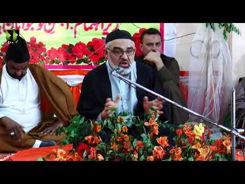 Jashan-e-Wiladat Imam Zain ul Abideen (as) | Khitaab: H.I Syed Ali Murtaza Zaidi - Urdu