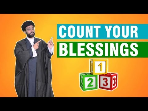 Count your blessings   One Minute Wisdom    English
