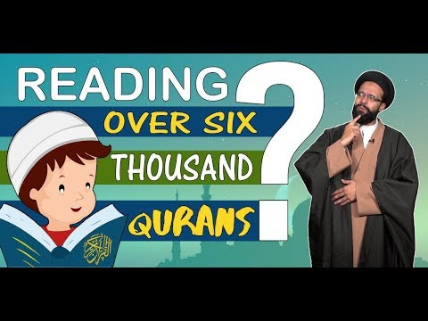 Reading over six thousand Qurans in just one month?   One Minute Wisdom   English