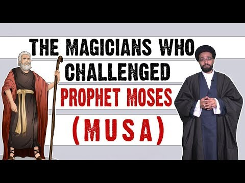 The Magicians who challenged Prophet Moses (Musa)   One Minute Wisdom   English